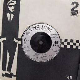 "THE BEAT, tears of a clown, B side ranking full stop, CHS TT6, 7"" single"