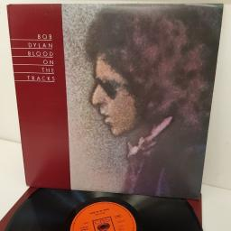 BOB DYLAN, blood on the tracks, S 69097, 12 inch LP
