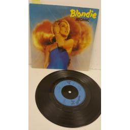 BLONDIE atomic, 7 inch single, CHS 2410