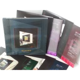 SOLD PINK FLOYD echoes the best of pink floyd,7243 53611118, 4 x lp boxset