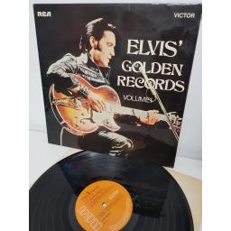"ELVIS PRESLEY, elvis' golden records vol. 1, SF 8129, 12"" LP"