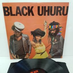"BLACK UHURU, red, ILPS 9625, 12"" LP"