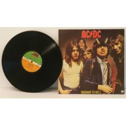 ACDC, Highway to hell 1979.First UK pressing. Atlantic [Vinyl] ACDC