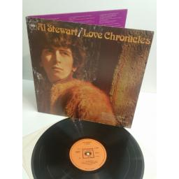 AL STEWART love chronicles CBS 63460