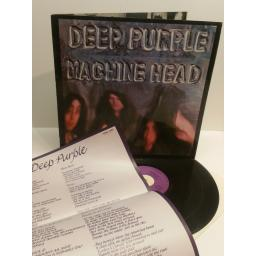 SOLD : DEEP PURPLE machine head WITH POSTER TPSA7504