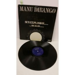 SOLD: MANU DIBANGO sun explosion, 12 inch single, GFR 13810