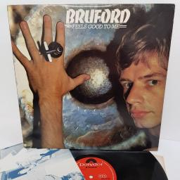 "BRUFORD, feels good to me, 2302 075, 12"" LP"