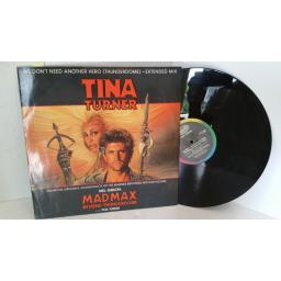 TINA TURNER we don't need another hero (thunderdome) - extended mix, 12 inch single, 12CL 364