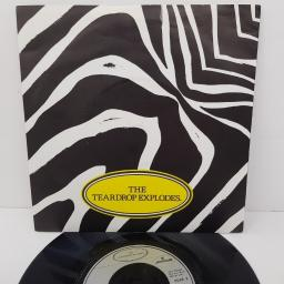 "THE TEARDROP EXPLODES, reward, B side strange house in the snow, TEAR 2, 7"" single"