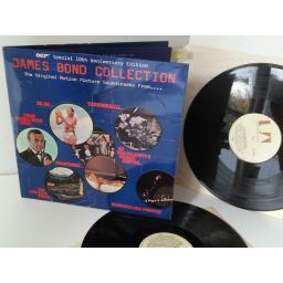 VARIOUS the james bond collection, UAD 60028, gatefold, double album, centre attached booklet