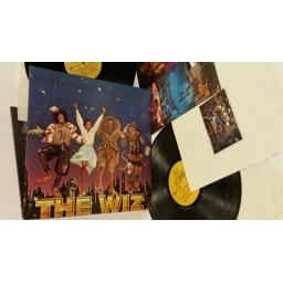 VARIOUS the wiz - original motion picture soundtrack, 2 x lp, gatefold, poster, booklet, MCA2--14000