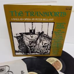 "PETER BELLAMY, the transports: a ballad opera by peter bellamy, FRRD 021/022, 2x12"" LP"