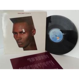 GRACE JONES living my life, vinyl LP