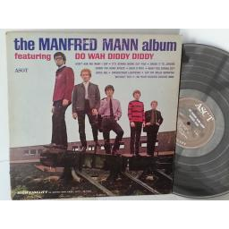 MANFRED MANN the manfred mann album, AM 13015