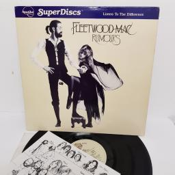 "FLEETWOOD MAC, rumours, NR 8, 12"" LP"