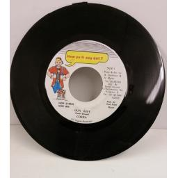 COBRA dun wife, 7 inch single, HOW 055