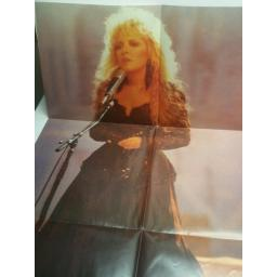 "STEVIE NICKS rooms on fire POSTER SLEEVE 12EMP90 12"" 3 TRACK SINGLE"