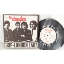 THE STRANGLERS grip, london lady, picture sleeve 7 inch single, UP 36211
