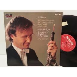 J.S. BACH, HEINZ HOLLIGER, ACADEMY OF ST MARTIN IN THE FIELDS, IONA BROWN 3 oboe concertos, 6514 304