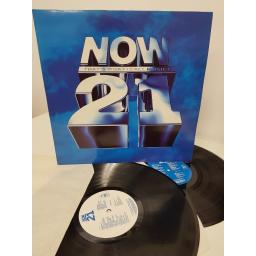 "NOW THAT'S WHAT I CALL MUSIC 21, NOW 21, 2x12"" LP"