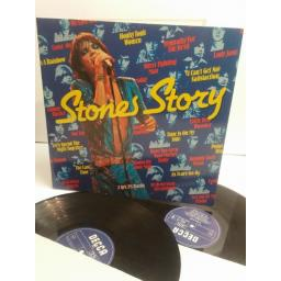 ROLLING STONES the stones story 2 lp's 28 tracks 6645 407