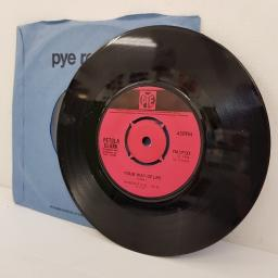 "PETULA CLARK, I couldn't live without your love, B side your way of life, 7N.17133, 7"" single"