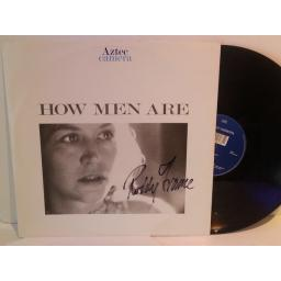 Aztec Camera HOW MEN ARE, 12 inch vinyl, signed front cover. YZ168T