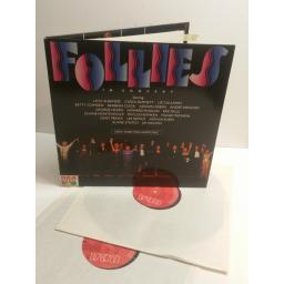 FOLLIES IN CONCERT New York Philharmonic STEPHEN SONNDHEIM BL97128(2)