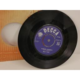 BILLY FURY wondrous place, 7 inch single, 45-F 11267