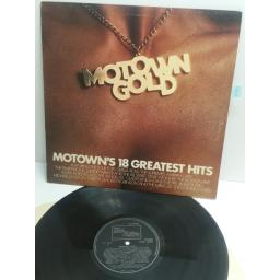 MOTOWN GOLD Motown's 18 greatest hits featuring MARTHA REEVES, SMOKEY ROBINSON, DIANA ROSS, JUNIOR WALKER, MICHAEL JACKSON stml12003