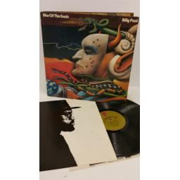 BILLY PAUL war of the gods, gatefold, picture insert, KZ 32409