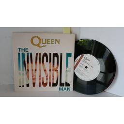 QUEEN the invisible man, 7 inch single, QUEEN 12