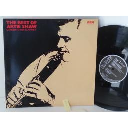 ARTIE SHAW AND HIS ORCHESTRA concerto for clarinet: the best of artie shaw, NL 89104