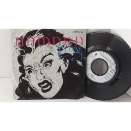"THE DAMNED eloise, GRIM 4, 7"" single"