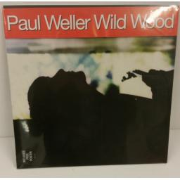 SOLD: PAUL WELLER wild wood, includes free poster, gatefold, 828 435-1
