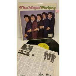 THE MOJOS working, info insert, ED 110