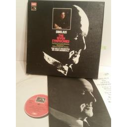 SIBELIUS, THE SEVEN SYMPHONIES BARBIROLLI, THE HALLE ORCHESTRA, SIR JOHN BARBIROLLI. 5LP BOX. SLS 799