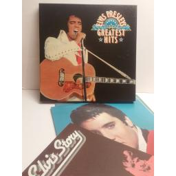 ELVIS PRESLEY greatest hits BOX SET 6 LP WITH BOOK. GELV-6A