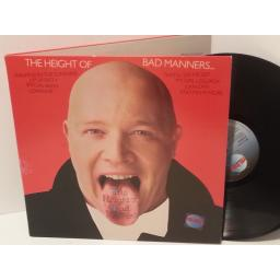 BAD MANNERS the height of bad manners, gatefold, STAR 2229