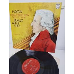 "BEAUX ARTS TRIO, haydn piano trios, H. XV nos. 20, 24 & 32 volume 5, 6500 522, 12"" LP"