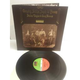 CROSBY, STILLS, NASH & YOUNG deja vu, textured gatefold sleeve, SD 7200