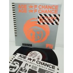 """AGE OF CHANCE, crush collision, AGE 9, 12"""" LP"""