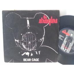 "THE STRANGLERS bear cage / shah shah a go go, 7"" single, BP 344"