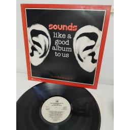 "SOUNDS LIKE A GOOD ALBUM TO US, SOUND 2, 12"" LP"