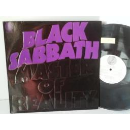 BLACK SABBATH master of reality, 6350 050