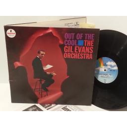THE GIL EVANS ORCHESTRA out of the cool, AS-4, gatefold