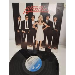 "BLONDIE, parallel lines, CDL 1192, 12"" LP"