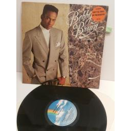 BOBBY BROWN don't be cruel MCF3425 VINYL LP