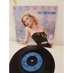 BLONDIE, the tide is high ft DUKE REID, side b susie and jeffrey, CHS 2465, 7'' single