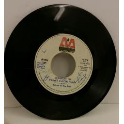 I ROY straight to jazzbo head, 7 inch single